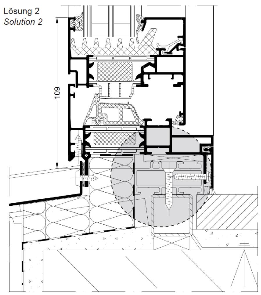 Obr. 2 Systémový rekonštrukčný rám z Al materiálov