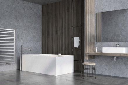 Radiátor Avento Frame v kúpeľni