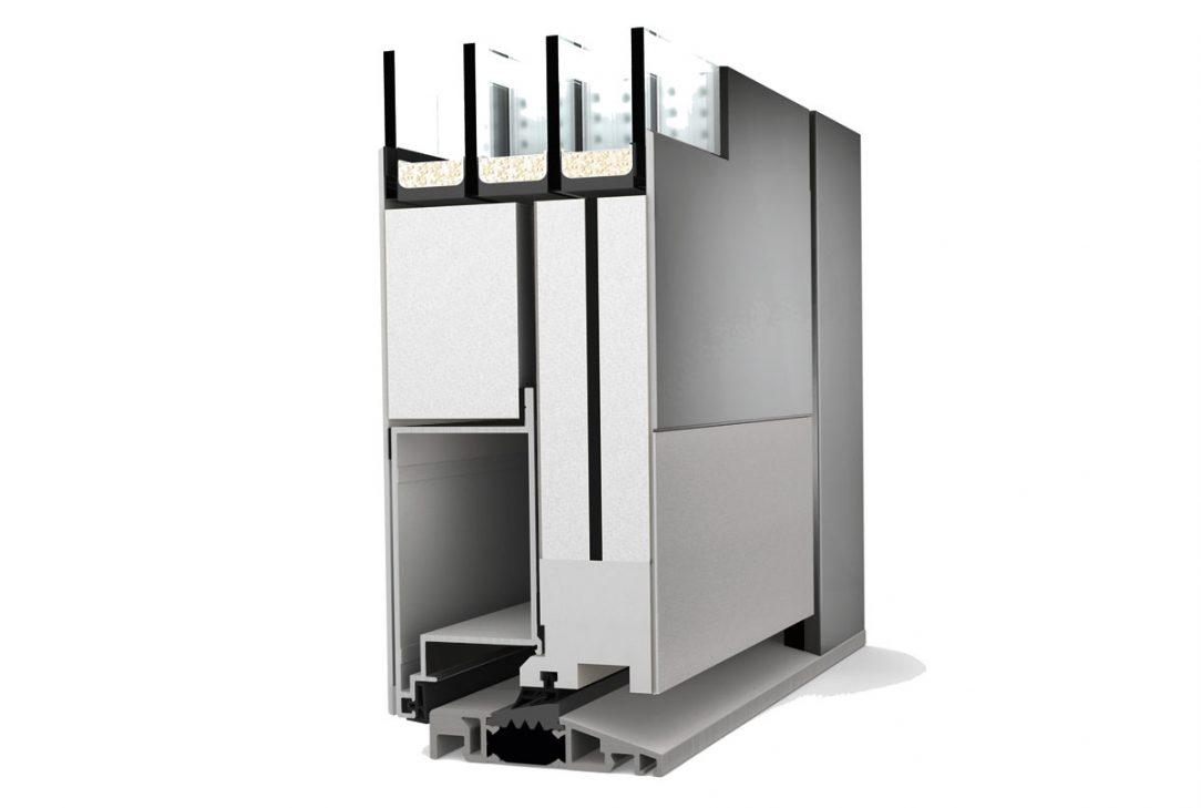 Rez hlinikovych vchodovych dveri AT410 STUDIO