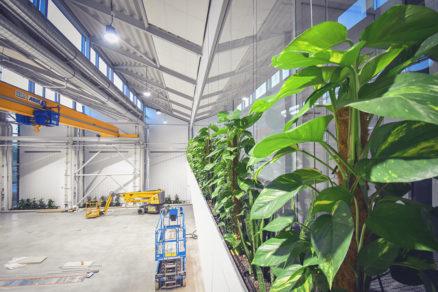 Unikátní zelená budova mění koncept stavění industriálních hal 1