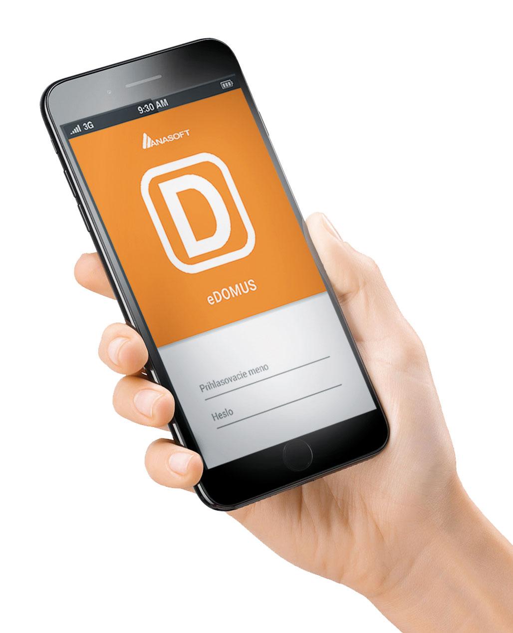 Okrem mobilnej aplikácie je systém DOMUS prepojený aj s webovým portálom Poschodoch.sk, ktorý je prístupný pre všetkých zákazníkov správcovských spoločností.