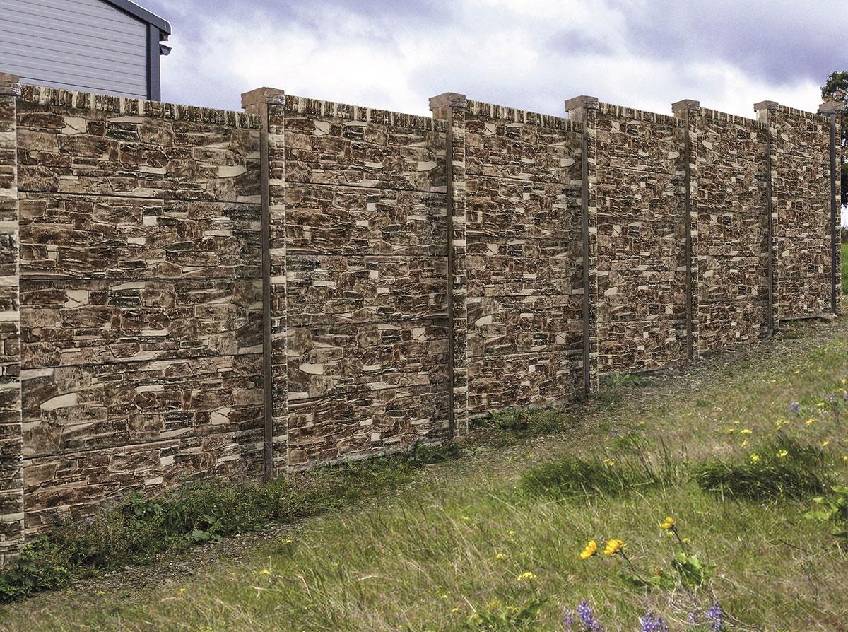 plot z betónových dosiek imitujúci drevo 3