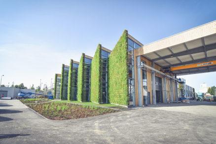 ivá stavba v podobe výrobnej haly LIKO Vo