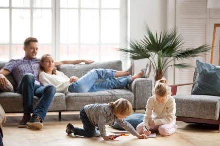 Interiér obývačky