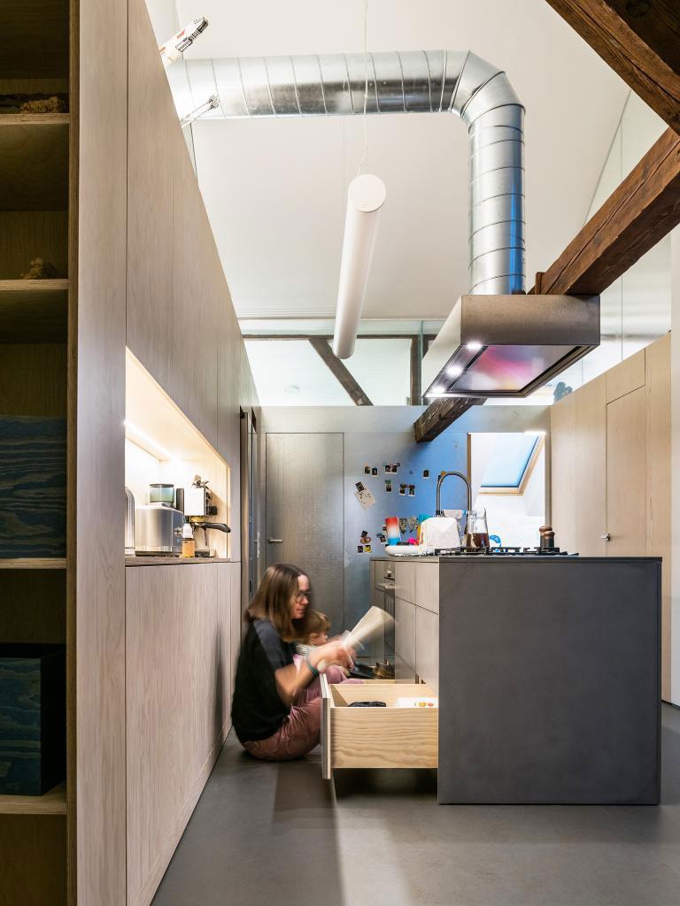 Rekonštrukcia podkrovného bytu