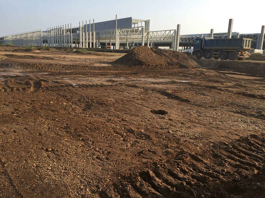 Typ zeminy priamo na stavbe