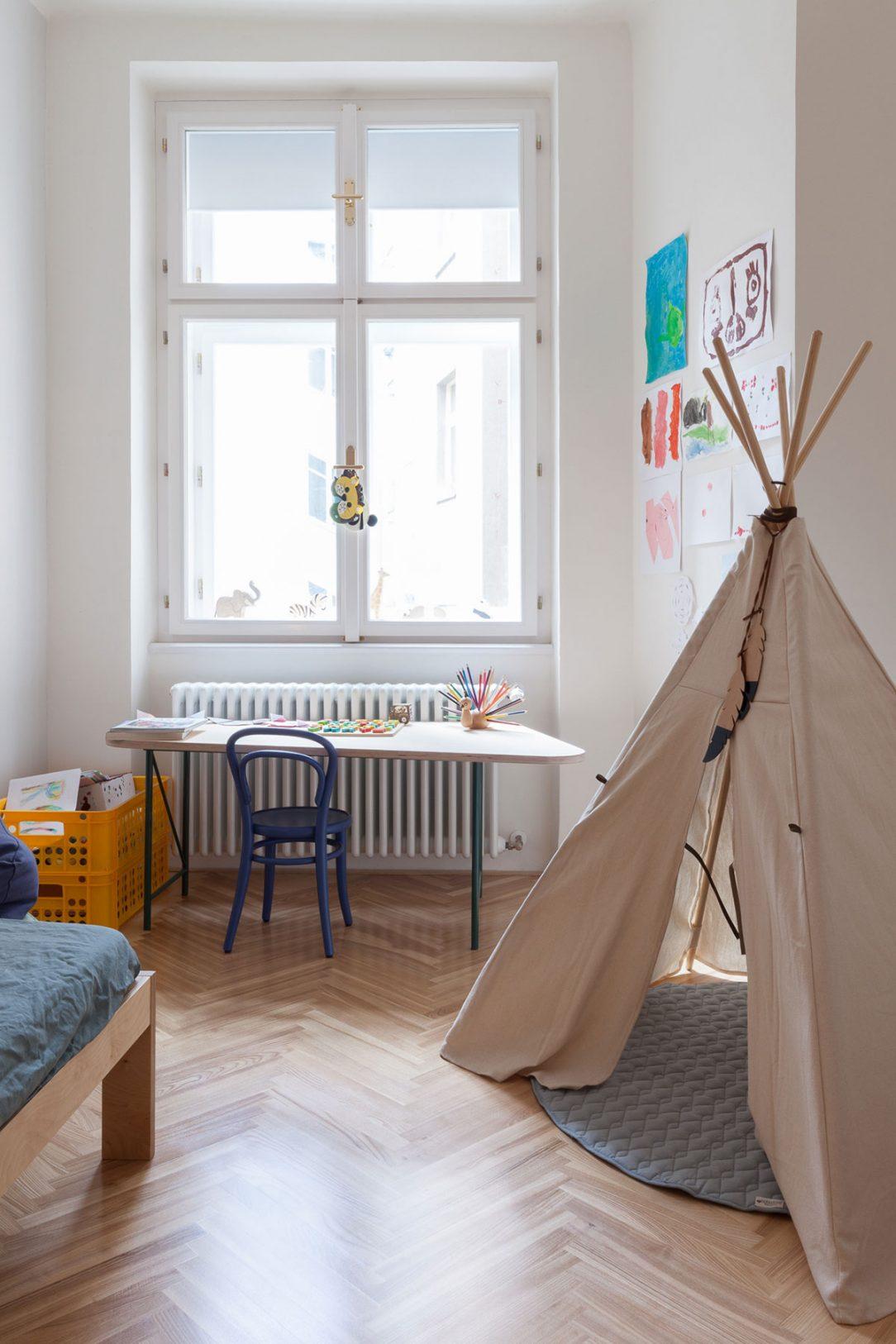 Detská izba s típí