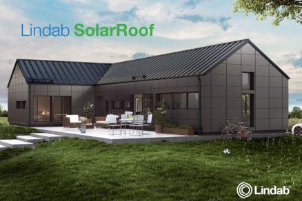 strešný systém Lindab SolarRoof
