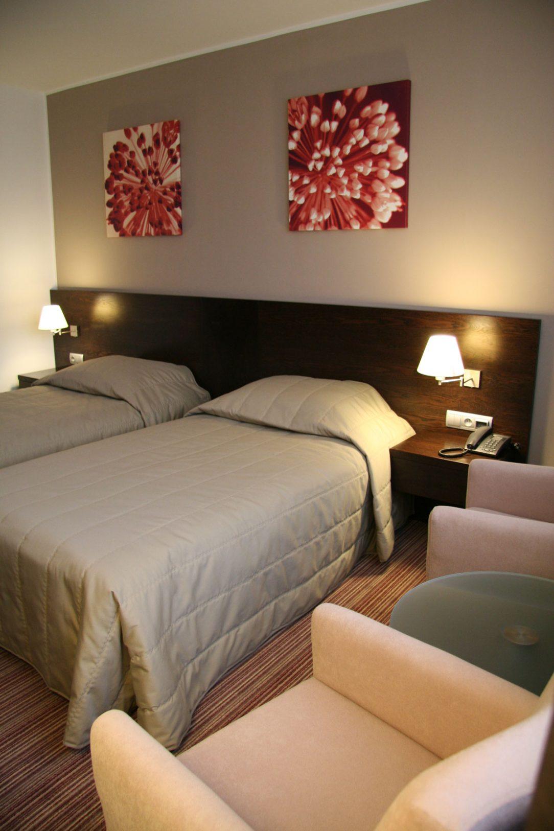 Hotelová spálňa