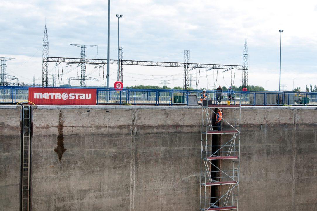 Metrostav začal s búracími prácami na železobetónových konštrukciách drážok bitiev.
