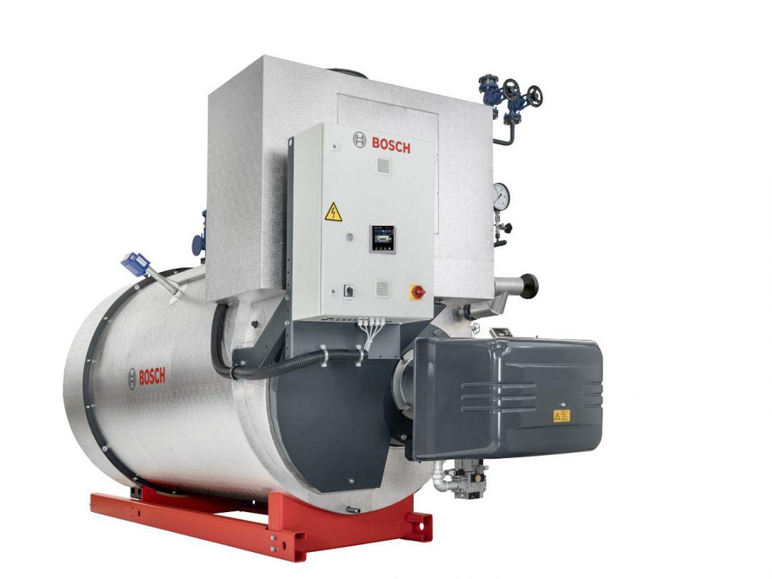 Nový parný kotol CSB značky Bosch