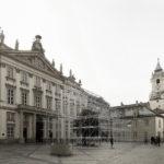 Pavilón je miestom spoločenskej interakcie – pozýva na verejné diskusie s témami ktoré hýbu súčasnou slovenskou architektúrou.