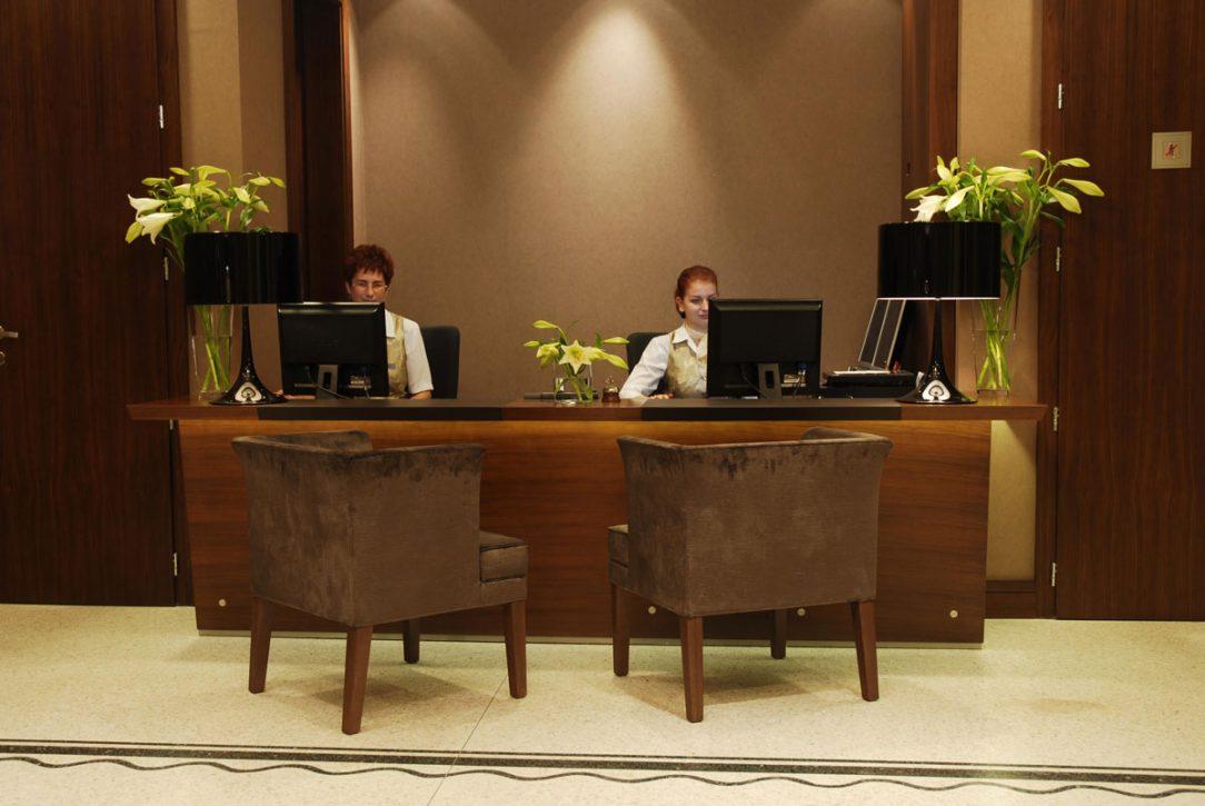 Recepcia hotela