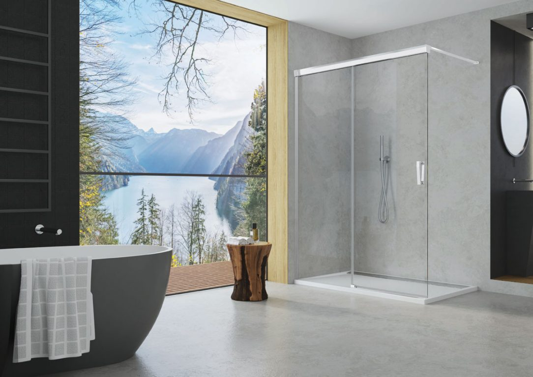 Sprchové zásteny CADURA 2
