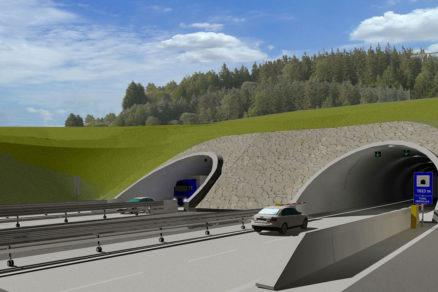 Tunel Okruhliak vizualizácia