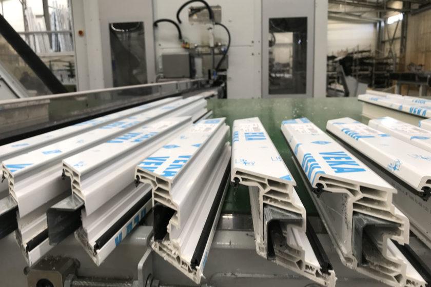 Výroba plastových profilov na novej CNC linke
