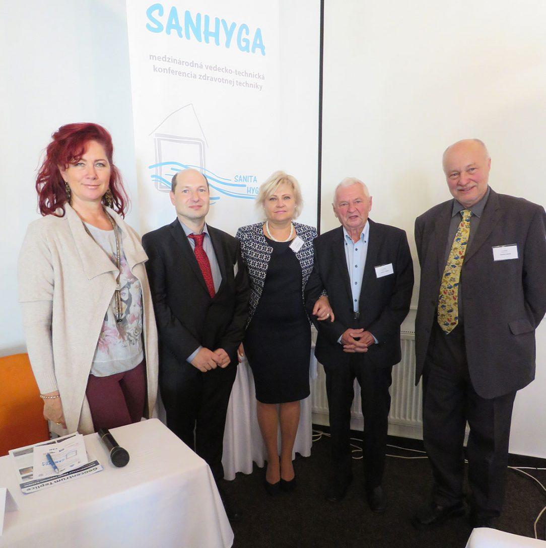 Vedecko technická konferencia SANHYGA 2
