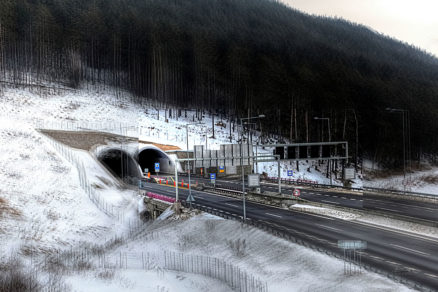 Vjazd do tunela