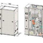 Obr. 4 Pohľad na chladiace zariadenie schladiacim výkonom 35 kW