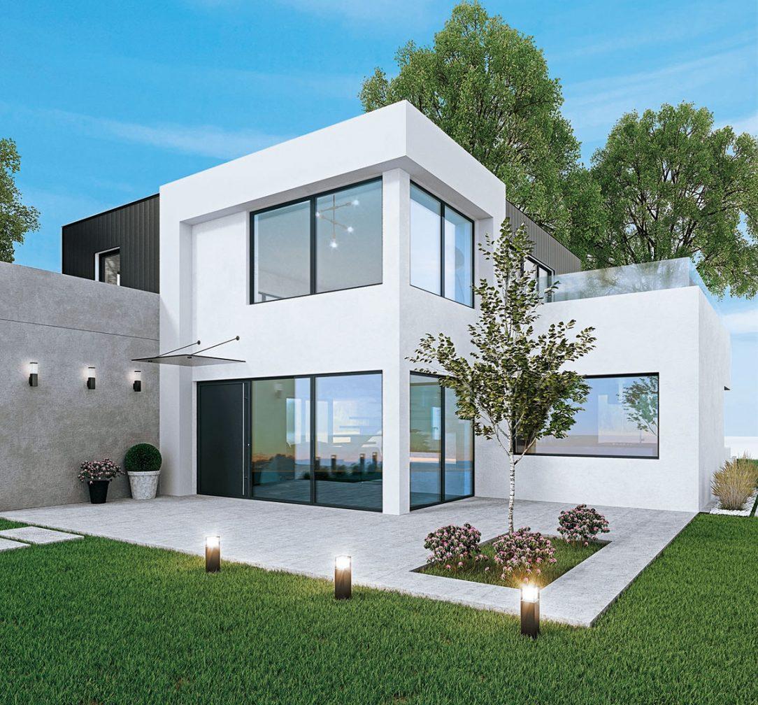 Tento 6 komorový okenný profil spĺňa maximálne nároky na tepelnú izoláciu dokonca aj štandardy pre pasívne domy.
