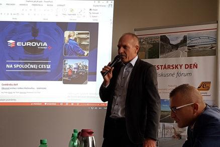 Ing. Peter Kovaľ predseda Slovenskej asociácie pre asfaltové vozovky SAAV a technický riaditeľ EUROVIA SK a.s.