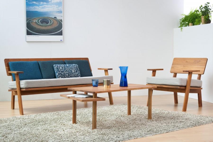 Kolekcia nábytku Prologue pre Scanteak Japan vznikla tak že mladí dizajnéri z Outofstock odišli na pár dní do Japonska aby nabrali inšpiráciu