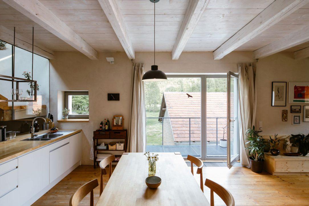 Kuchyňa v starom mlyne