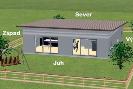 Obr. 1 Modelový dom