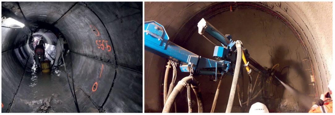 Obr. 5 Robustný dizajn umožňuje striekanie alebo zalievanie senzorov betónom.