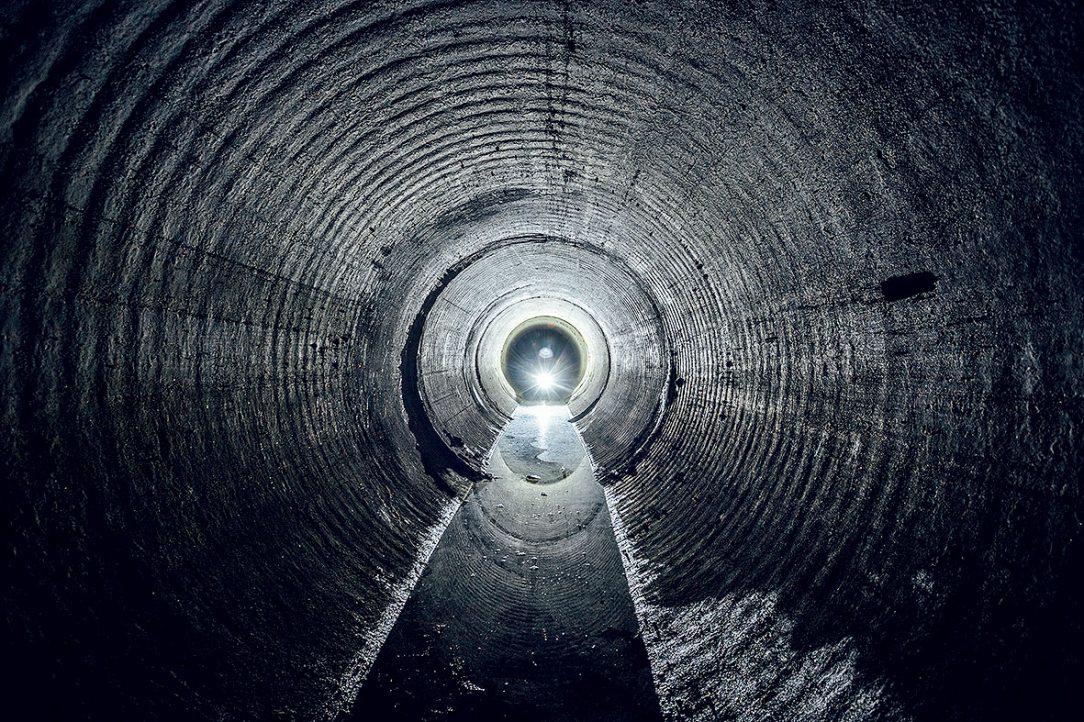 Obr. 6 FBG technológia sa výborne uplatní pri snímaní deformácií kanalizačných tunelov.