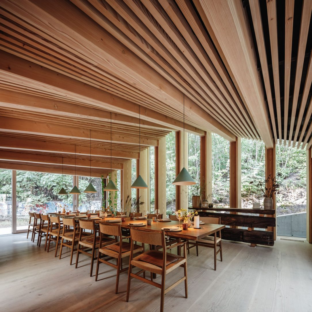 Veľkorysé priestory reštaurácie