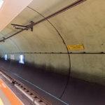 Obr. 7 Systém možno využiť aj pri sledovaní diaľničných alebo železničných tunelov či metra. Jeho flexibilita umožňuje obvodové aj pozdĺžne merania, ako aj jednoduchú montáž a spustenie aj pri skombinovaní oboch meraní do jedného.