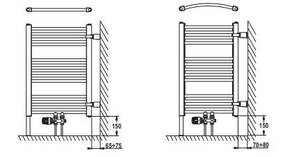Kúpeľňové rebríky 9