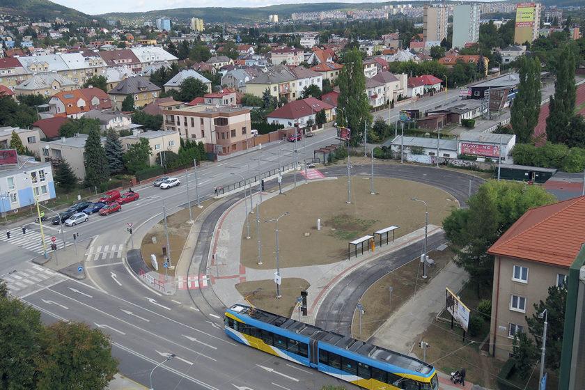 Modernizované električkové trate v Košiciach a nové električky