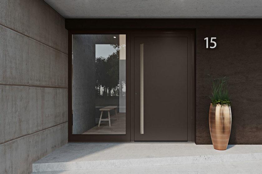 Systém domových dverí heroal D 72