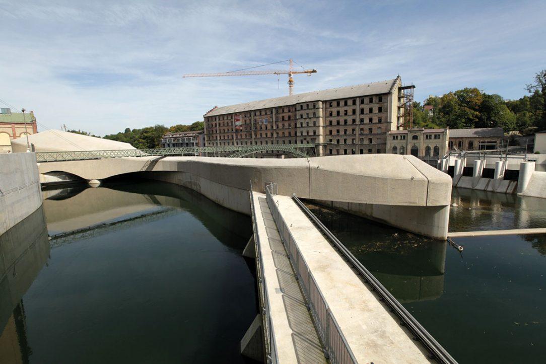 Vodná elektráreň Kempten Konstruktionsgruppe Bauen AG
