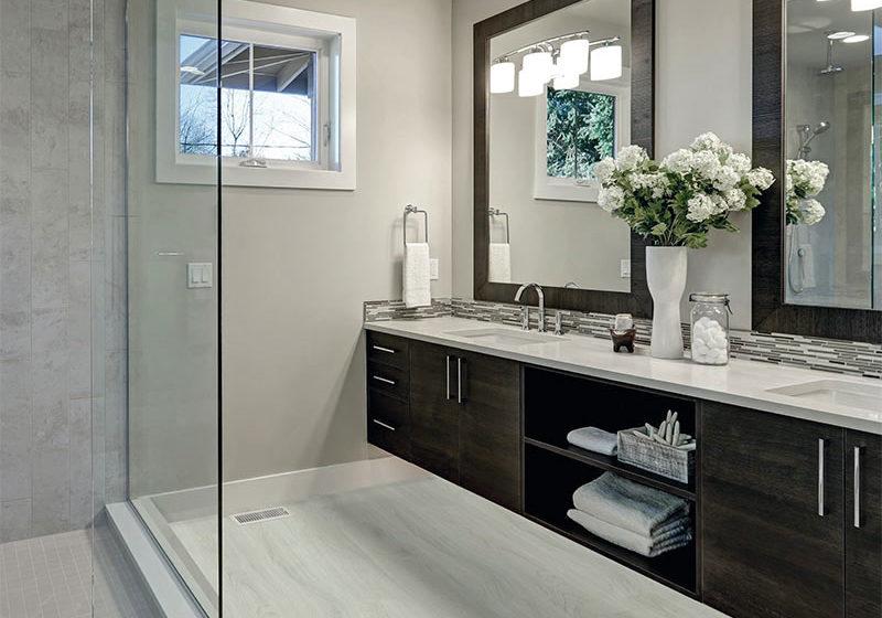 WELL click je vhodné umiestniť aj do kúpeľne vďaka jeho skvelej štruktúre.