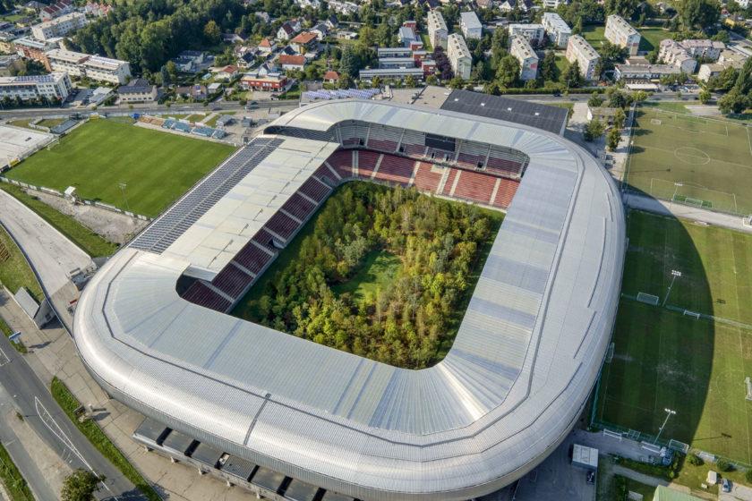 Štadión Wörthersee je najmodernejším štadiónom Rakúska