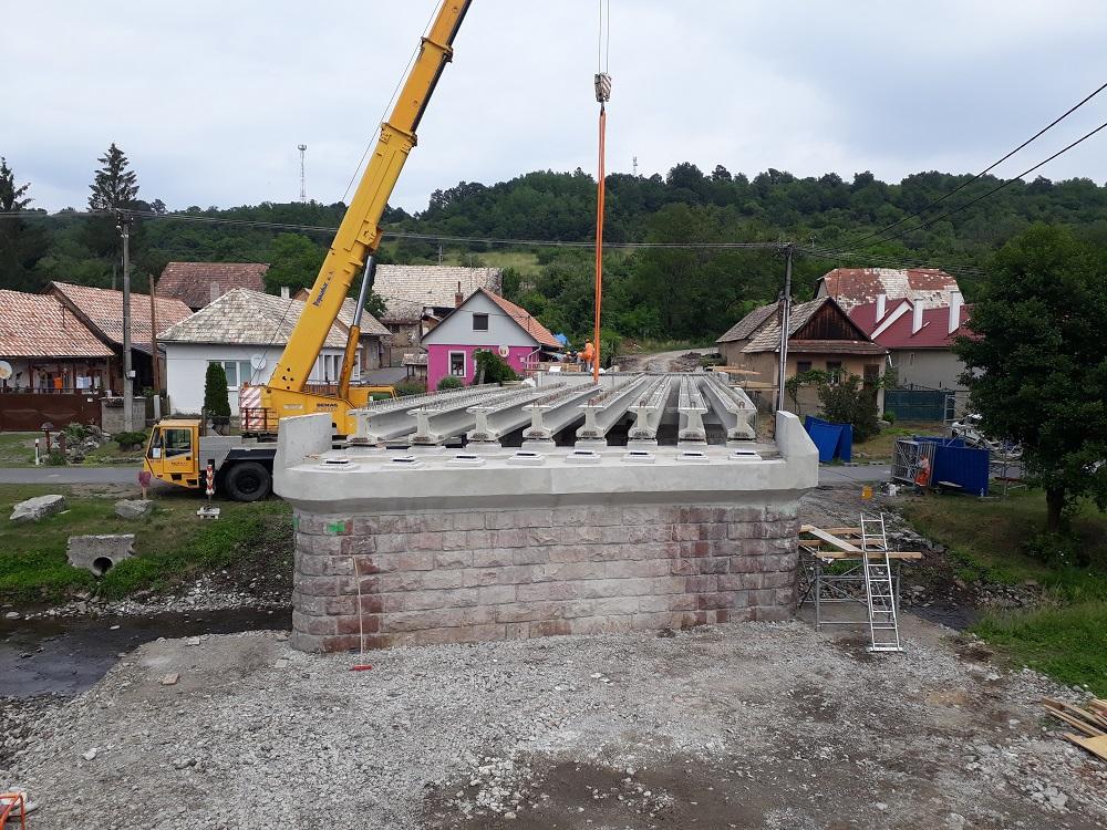 rekonštrukcia mosta Ladzany