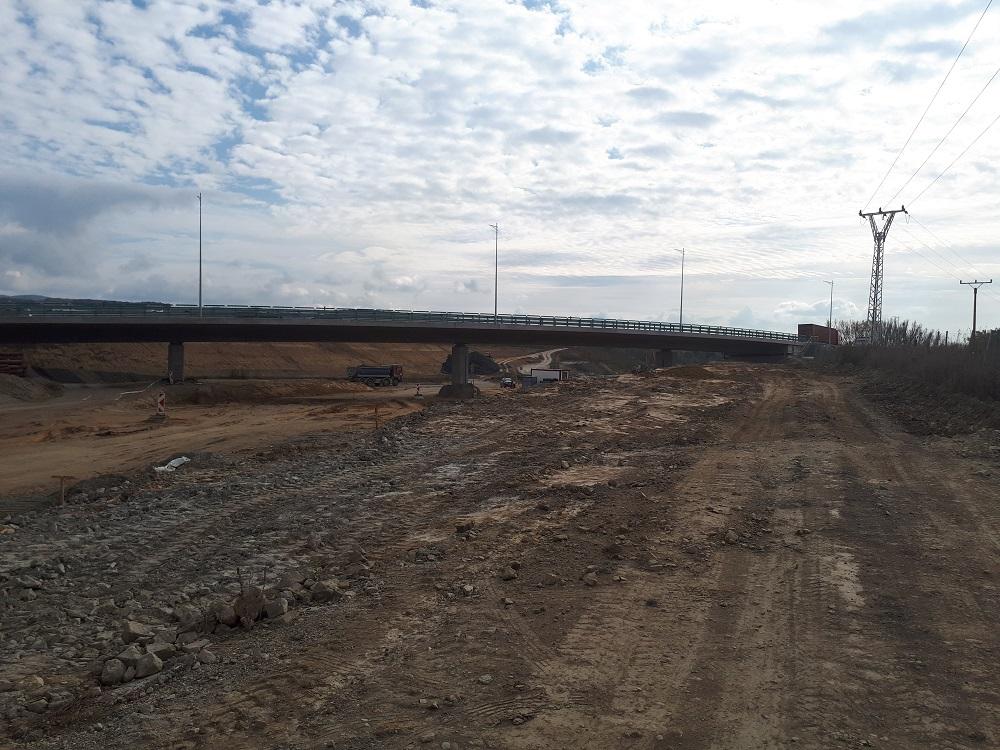 Mostný objekt 214-00 Most na vetve č. 1 križovatky Prešov