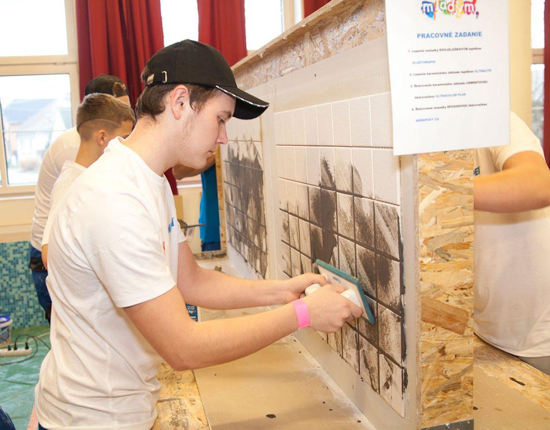 Priebeh súťaže Mapei Mladým hodnotila odborná porota Mapei.
