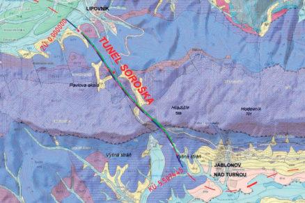 Obr. 2 Geologická charakteristika územia