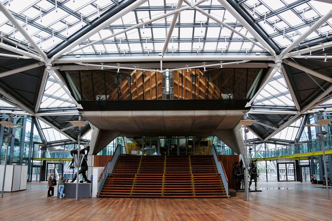 Rogers Stirk Harbour Partners – Antwerp Law Courts Antverpy Belgicko