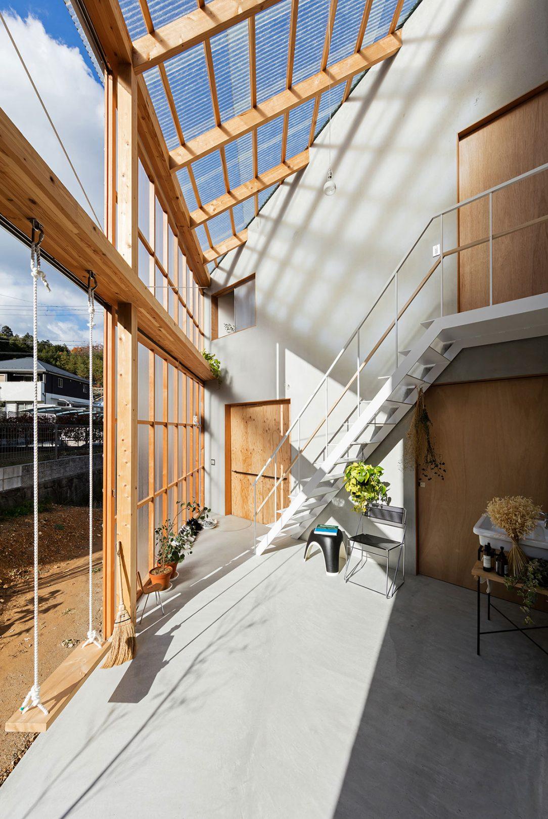 Slnečná izba sa dá dobre využiť na sušenie bielizne