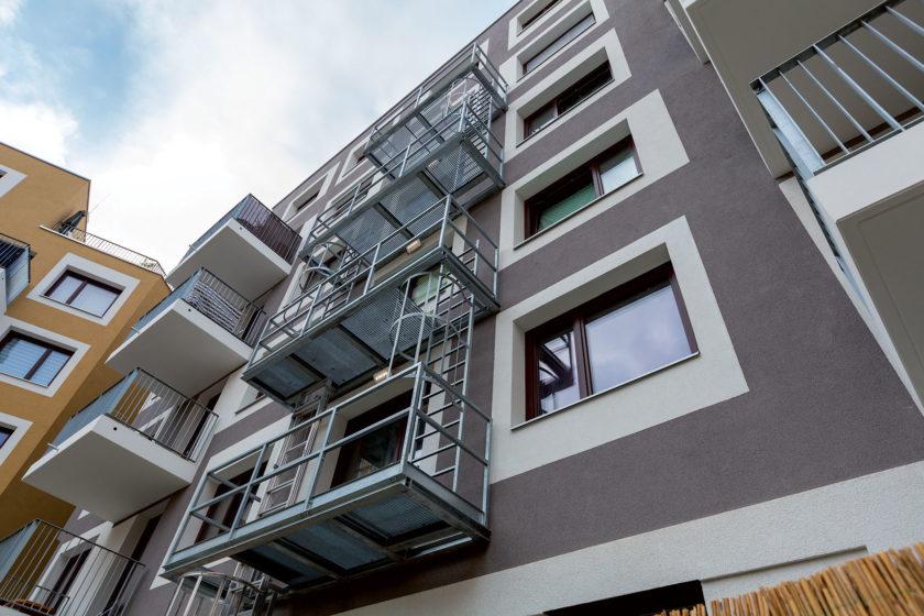 bytový dom vo Viedni