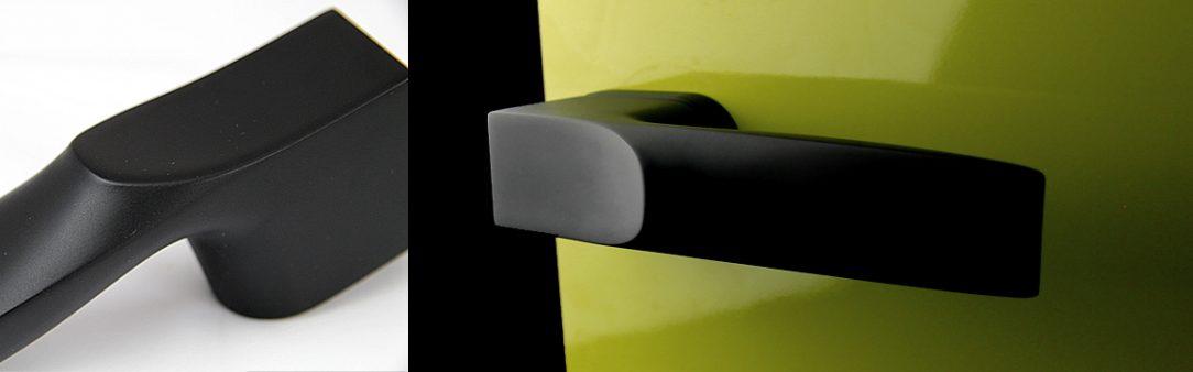 Cobra Q Spectra - exkluzívní černé dveřní kování