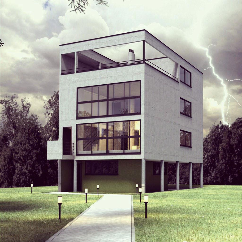 Le Corbusier projekt domu Citrohan 1920 – 1922