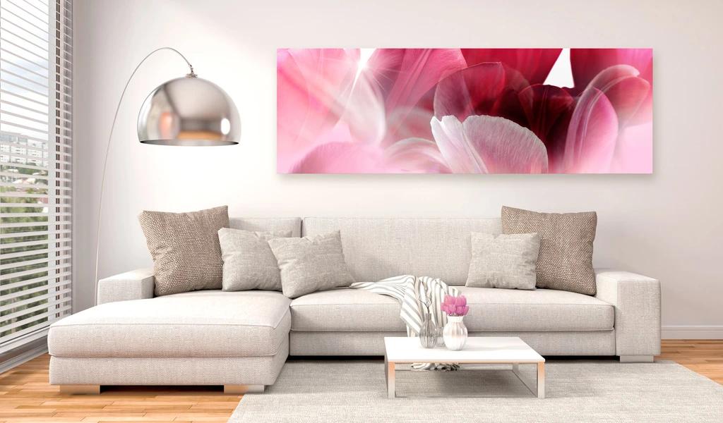 Obraz do obývačky lupene