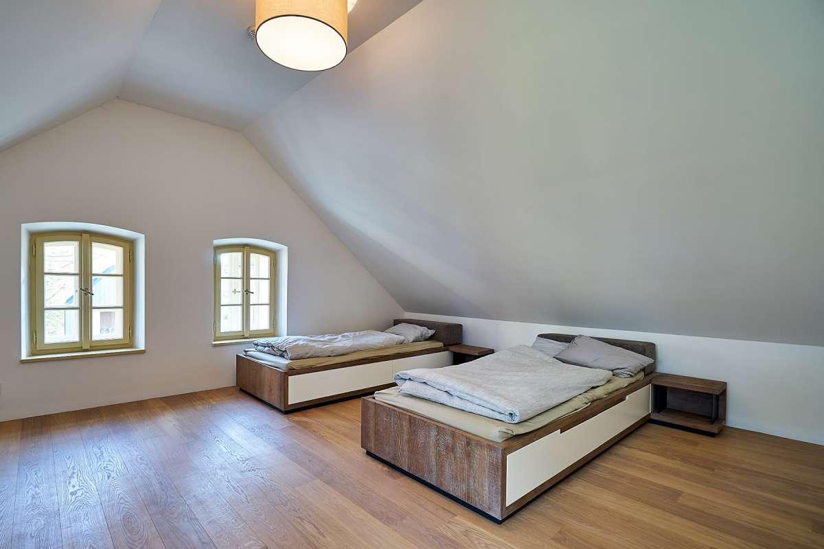 Spálňa na hornom podlaží
