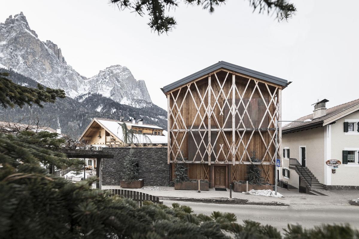 Stodola v južnom Tirolsku